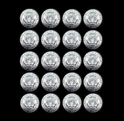 2007 2008 2009 2010 2011 2012 2013 2014 2015  2016 P+D Kennedy Mint Roll Set