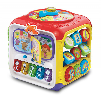 Baby Toy Activity Cube Toddler Infant Developmental Learning Educational Toys