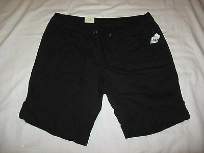 """Old Navy Women's Black Casual Shorts Size M Waist 32""""-34"""" NWT"""