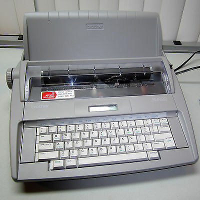 Brother SX-4000 Electronic Dictionary Typewriter - Great Typewriter!!!