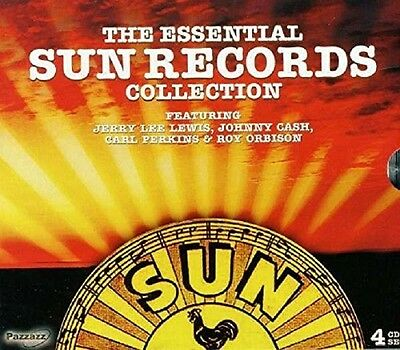The Essential Sun Records Collectio 4 Cd New+