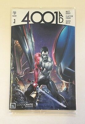 Lootcrate Exclusive Valiant 4001 AD #1 Comic Book New Sealed July 2016