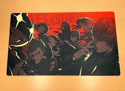 F1410 Free Mat Bag Thief Gang Persona 5 P5 TCG CCG Custom Playmat Weiss Schwarz