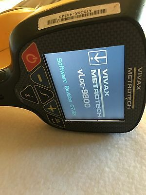 Vivax Metrotech Vloc-9800 Cable/Pipe Locator Utility Receiver