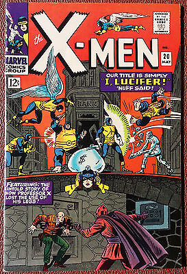 Uncanny X-Men #20 Cover A (1963 Series) , 1st Print , Marvel , VERY FINE