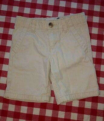 Boys 3T Old Navy Adjustable Waist Shorts, Sand