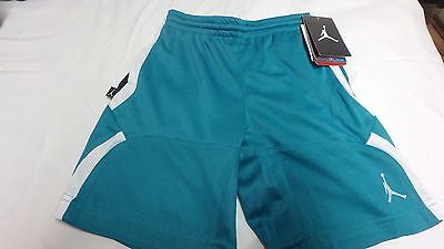 NWT Jordan Jumpman Lush Teal Dri Fit Shorts Size 7