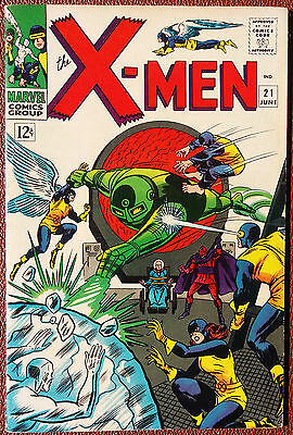 Uncanny X-Men #21 Cover A (1963 Series) , 1st Print , Marvel , VERY FINE MINUS