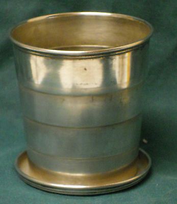 Antique C.D. Peacock (Gorham) Sterling Silver Collapsible Cup A5280