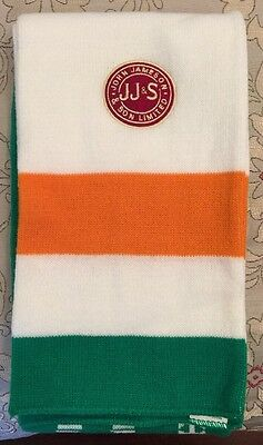 JAMESON IRISH WHISKEY Scarf NEW Winter Ireland St. Patty's Day Bar Soccer
