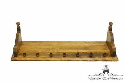 ETHAN ALLEN Heirloom Nutmeg Maple 24″ Gallery Wall Shelf