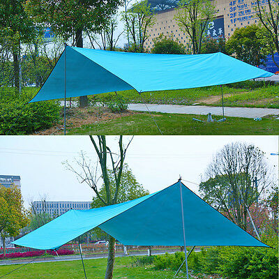Sun Shade Sail Water Resistant Garden Patio Awning Canopy Cover 98% UV Block