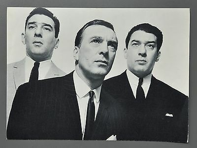 David Bailey Original '65 Halftone Photo Print The Kray Brothers Reg Charlie Ron