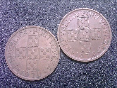 Portugal  50  Cents     1970   1979