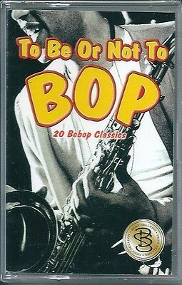 To be or not to bop. 20 Bebop Classics (1998) Musicassetta NUOVA Dizzy Gillespie