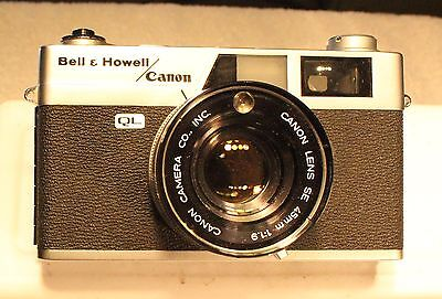 Bell & Howell / Canon Canonet QL19 35mm Rangefinder Camera