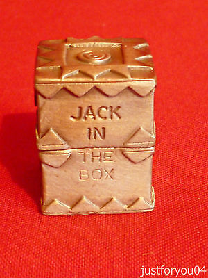 Pewter - The Jack in the Box Collectors Thimble