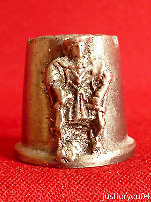Pewter - Henry VIII : Mary Rose Portsmouth Collectors Thimble