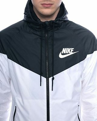 White Nike Windrunner Jacket Windbreaker Kids unisex