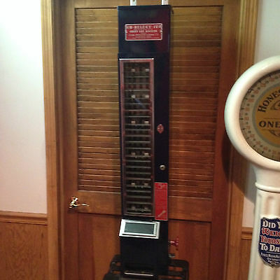 REDUCED 1940's, 5 CENT, U-SELECT-IT CANDY/ VENDING MACHINE/ 5 CENT/ REDUCED