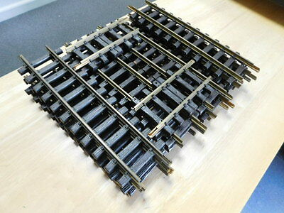 LGB 10000 Straight Track 14PC With Two LGB 10150 !/2 Sections