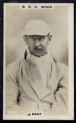 PHILLIPS-CRICKET ERS BROWN BACK F192-#181c- KENT - WOOD