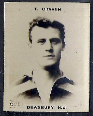 Pinnace Football-Pinnace Back-#0999- Rugby - Dewsbury N.u. - T. Craven