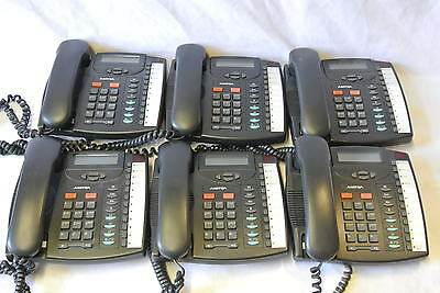 Lot of 6 Aastra 9133i SIP VoIP Business Phones