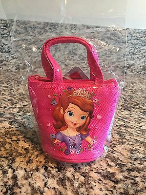 Disney Junior Sofia The First Coin Toy Bag Brand New Pink