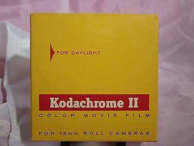 Sealed 100ft. Kodachrome II 16mm For Daylight Color Movie Film Exp. March 1967