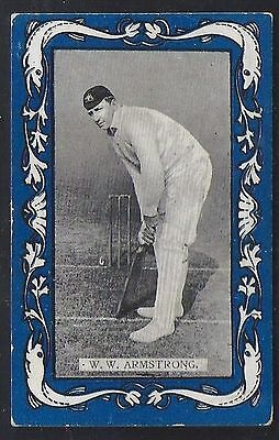 Wills-Australian/english Cricket-Blue Border Capstan-#01- Armstrong