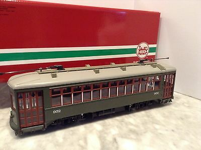 "Lgb Rare  20380  Street Car  ""st.charles "" New In Box"