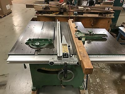 "Professional Tannewitz Xjs Table Saw Woodworking 14"" - 16"" Blade 7.5 Hp"