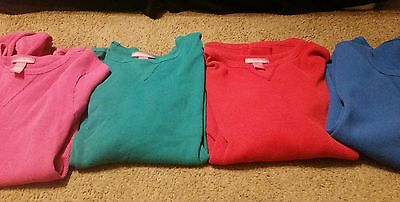 Lot Of 5 Woman Within Sweaters Free WW T Shirt