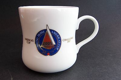 1987 America's Cup Taster's Choice Coffee Mug