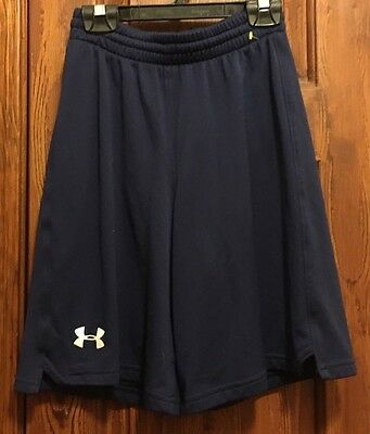 Under Armour Blue Youth Athletic Gym Track Shorts  Youth small YSM S