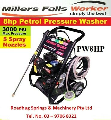 8 Hp Pressure Washer Part No. = Pw8Hp