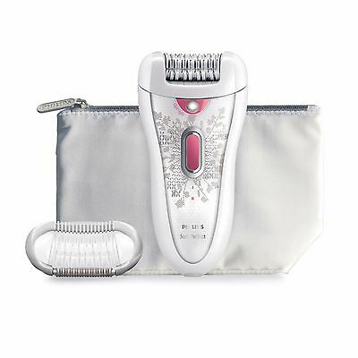 Philips HP6574/50 Satin Perfect Cordless Epilator with Travel Case/Pouch **NEW**