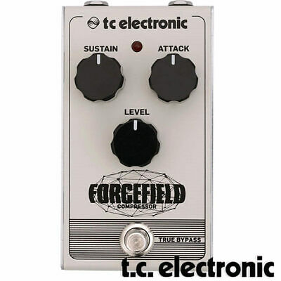 TC Electronic Forcefield Compressor Guitar Analogue Effect Pedal
