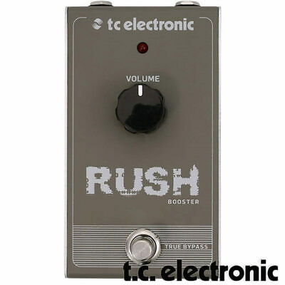 TC Electronic Rush Booster Guitar Boost Analogue Effect Pedal