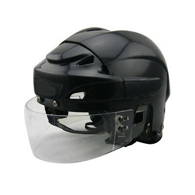 professional ice hockey helmet with removable protective visor