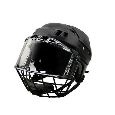 Economical hot sale head protector ice hockey player helmet with cage and visor