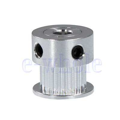 20T 5mm Bore 16mm Height Gt2 Aluminum Drive Pulley For Diy 3D Printer New EW