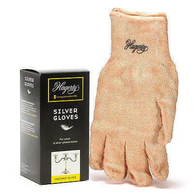 Hagerty Silver Cleaning Polishing Gloves Jewellers Silversmith 1 pair