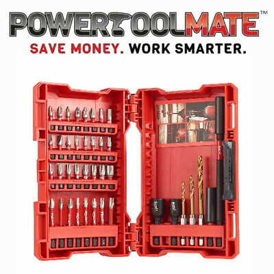 Milwaukee 4932430908 40pc Shockwave Impact Driver Bit Set
