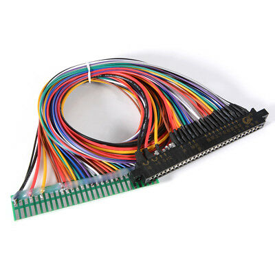 "JAMMA PCB Board Harness 24"" Power Arcade Control Panel Extension Cable AC710"