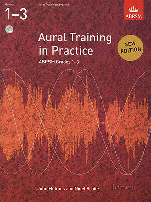 Aural Training in Practice Grades 1-3 Music Book/2CDs ABRSM Practical Exams