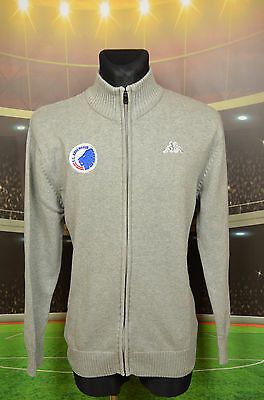 Kobenhavn Copenhagen Kappa Football Sweater (3Xl) Jersey Top Cardigan Cotton