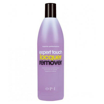 OPI Expert Touch Nail Polish Lacquer Enamel Varnish Remover 450ml Acetone