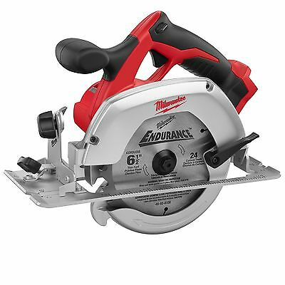"18V M18 Cordless 6-1/2"" Circular Saw (Tool Only) Open Box Milwaukee 2630-20"